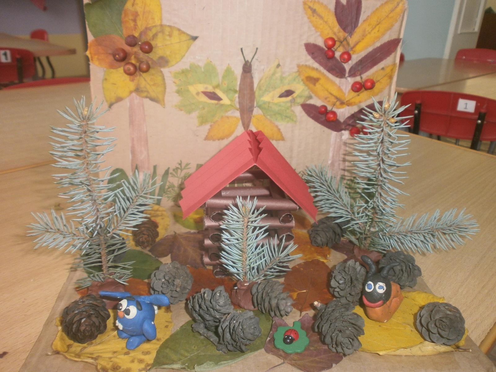Новогодняя поделка в детский сад на выставку 74