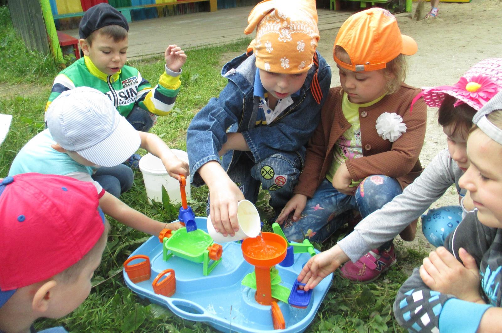 Сценарий летних праздников и развлечений в детском саду