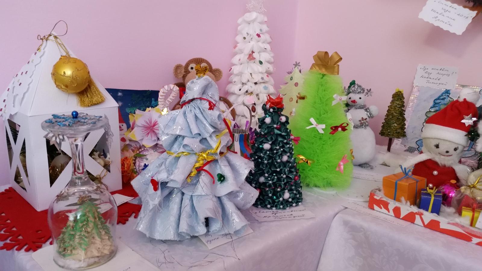 Фото новогодних поделок в детском саду
